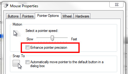 what is mouse acceleration