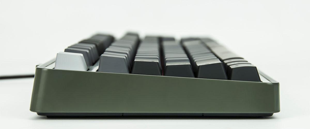 mechanical keyboard side view