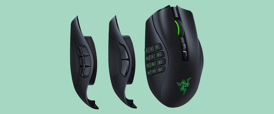 Razer Naga Pro - The Best Wireless Mouse for WOW