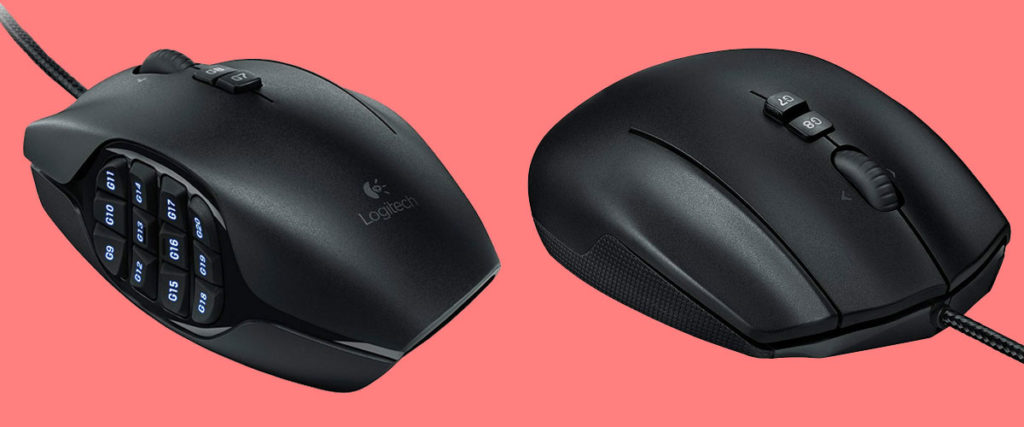 logitech-g600 wow gaming mouse