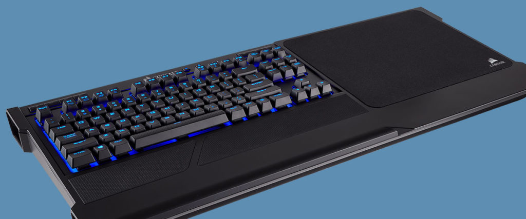 corsair lapboard with k63