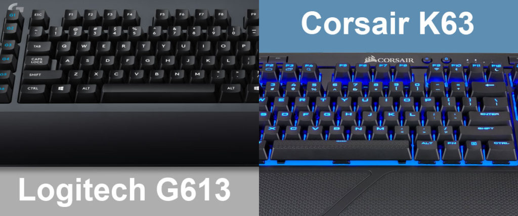 Logitech G613 vs Corsair K63 | Wireless Keyboard Review