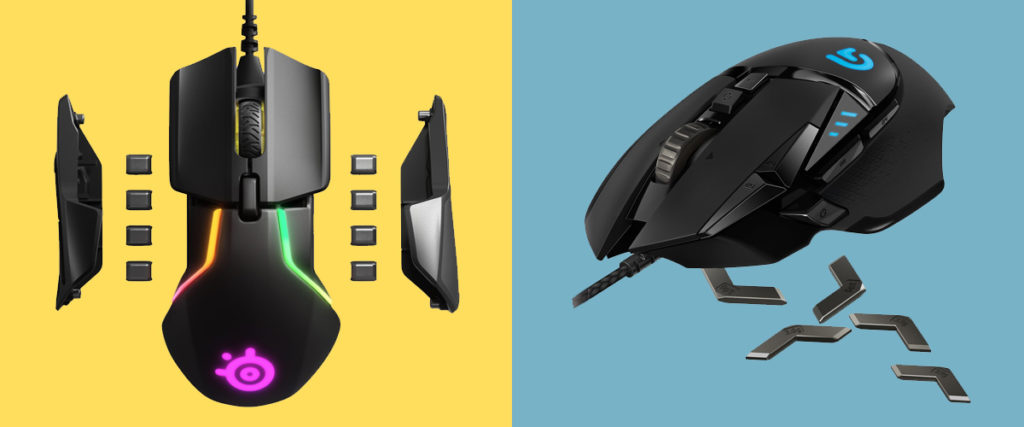 SteelSeries Rival 600 vs Logitech G502 | Weight Tuning Mice