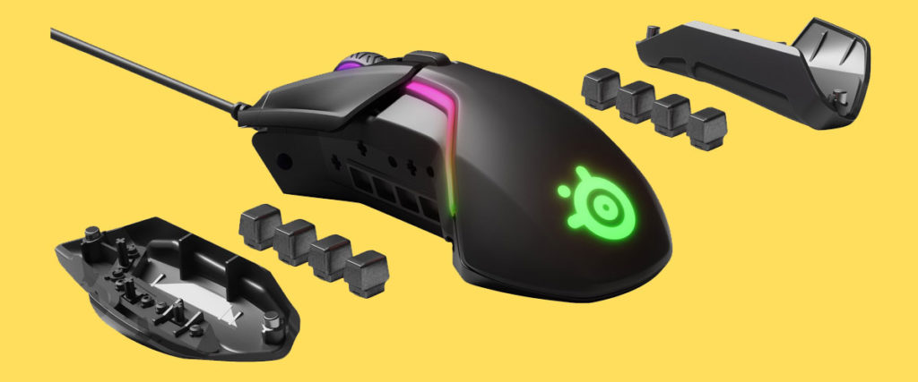 steelseries rival 600 weight tuning