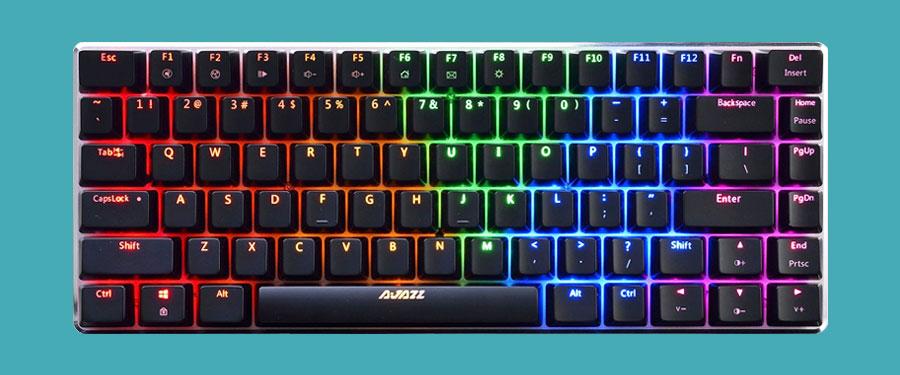 Ajazz AK33 Geek Mechanical Keyboard Review