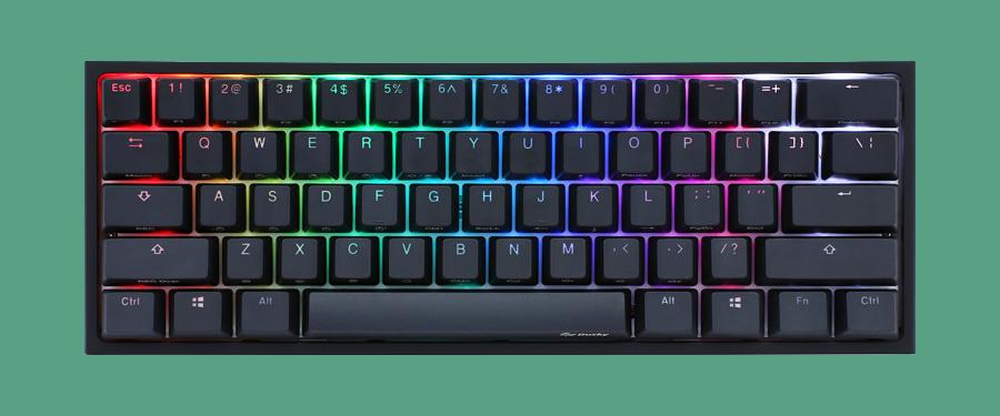 Akko X Ducky One 2 - The best 60% mechanical keyboard