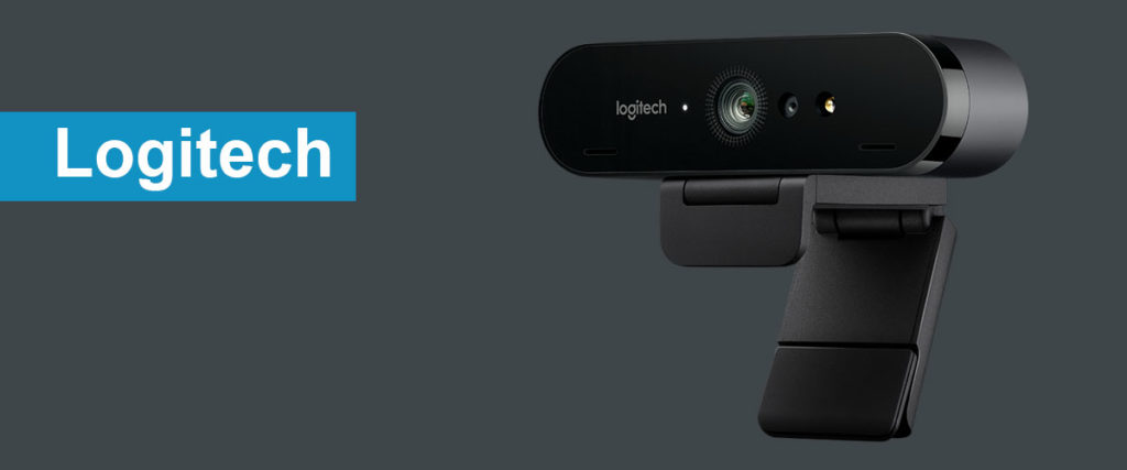 Logitech BRIO The best webcam for streaming on twitch