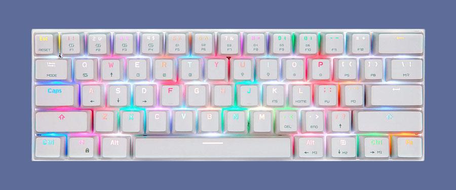 MOTOSPEED CK62 60% keyboard review
