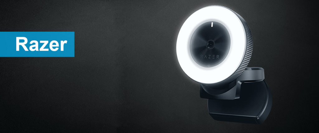 Razer-Kiyo built in lighting webcam for streaming