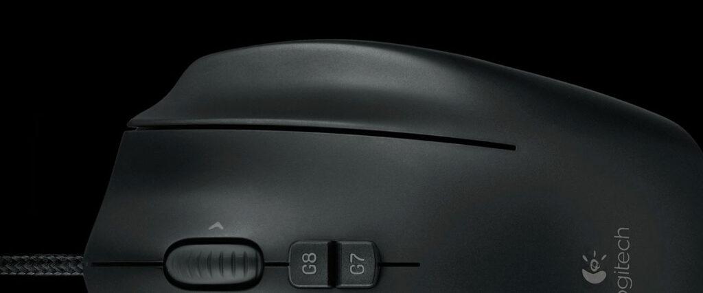 Logitech G600 Third mouse click button - G-SHIFT
