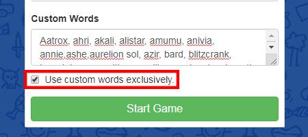 skribbl.io custom words