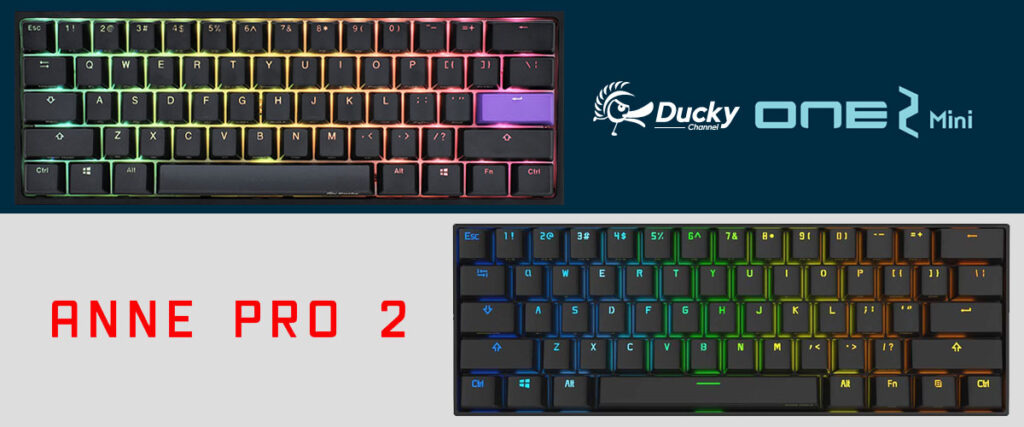Ducky One 2 Mini vs Anne Pro 2 | Keyboard Review