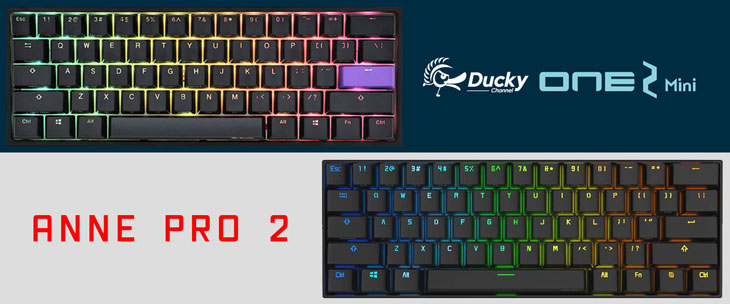 Ducky One 2 Mini vs Anne Pro 2