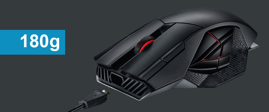 The heaviest gaming mouse