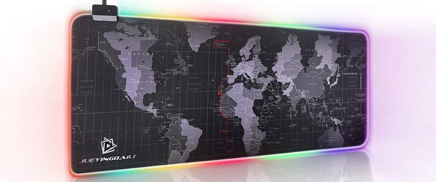LED-RGB-World-Map-Mouse-Pad