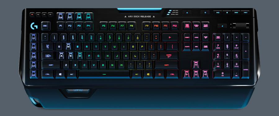 logitech g910 orion spark mmo keyboard