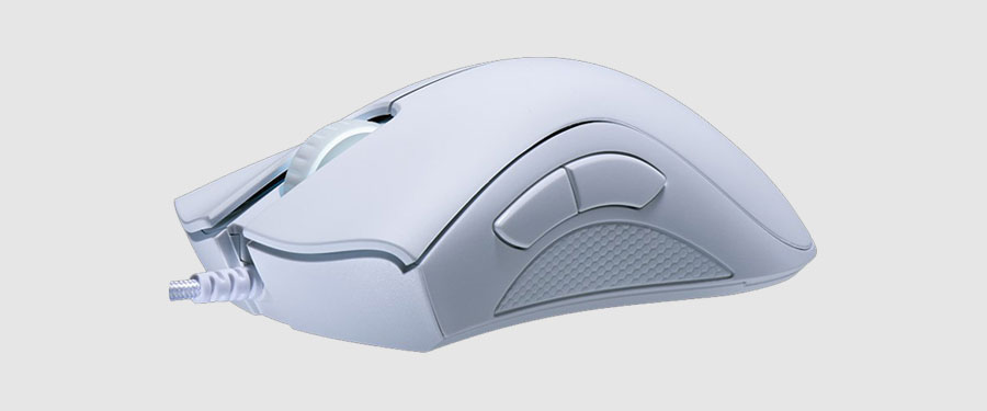 Razer DeathAdder Essential - budget white gaming mouse