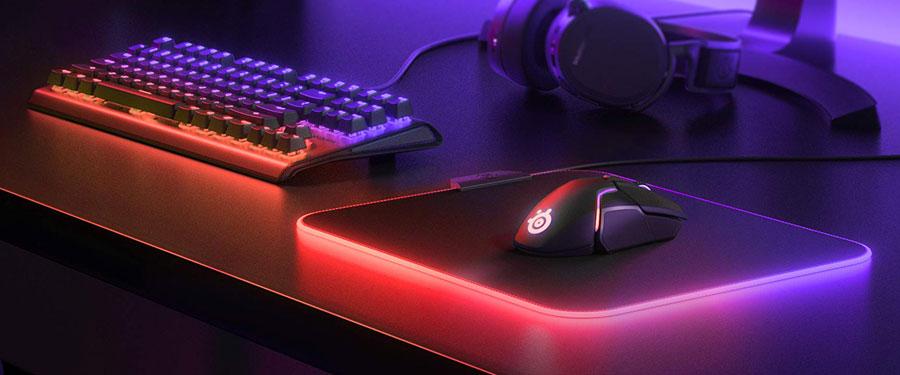 Best RGB Mouse Pad - SteelSeries QcK Prism