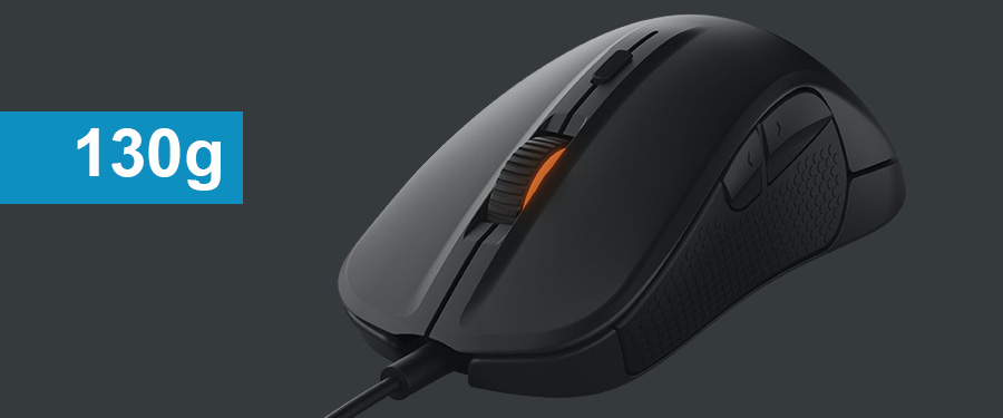 SteelSeries Rival 300 - heavy fps gaming mouse