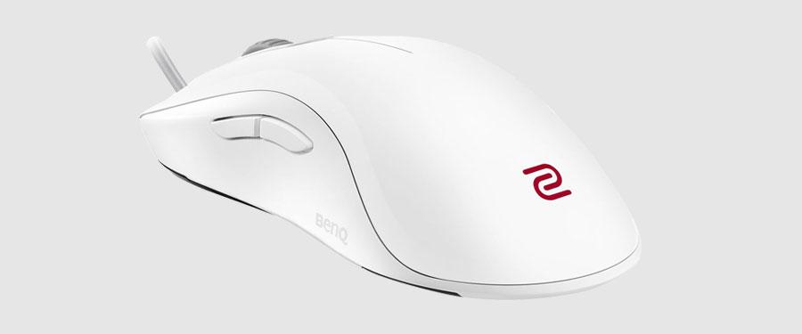 white ZOWIE mice