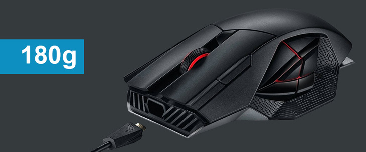 heaviest gaming mouse