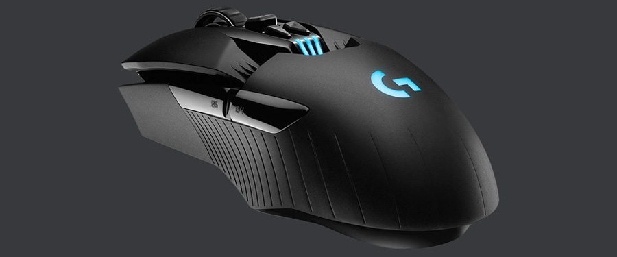 wireless ambidextrous gaming mouse