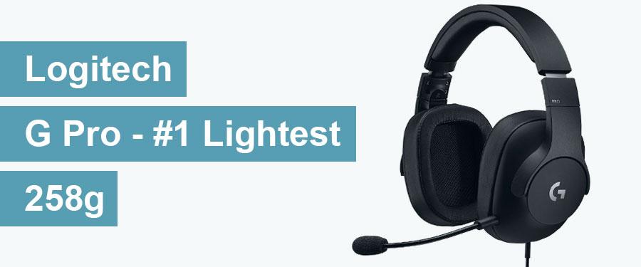 Logitech G Pro - The Lightest Gaming Headset