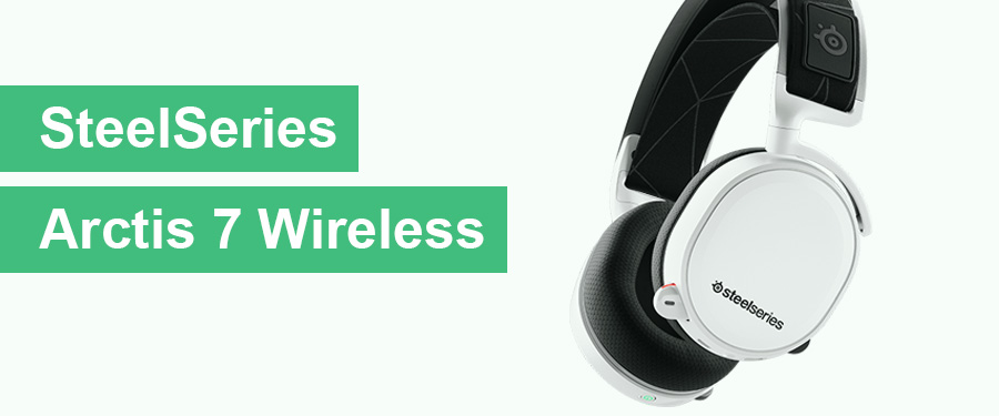 best white gaming headset - steelseries arctis 7