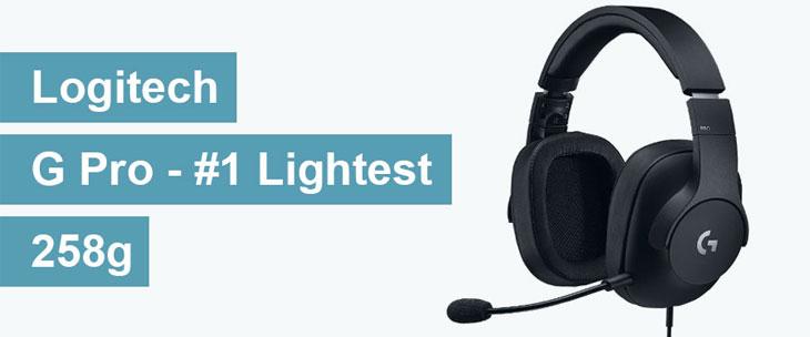 lightest gaming headset