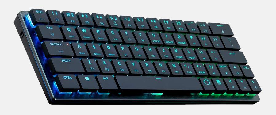 small low profile mechanical gaming keyboard