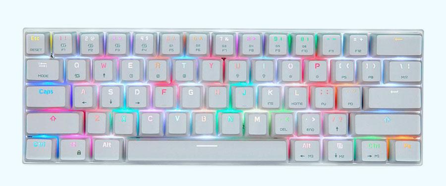 MOTOSPEED CK62, cheap portable mechanical keyboard