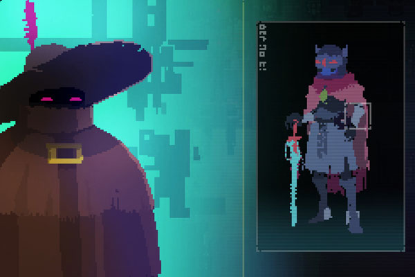 Hyper Light Drifter Menu