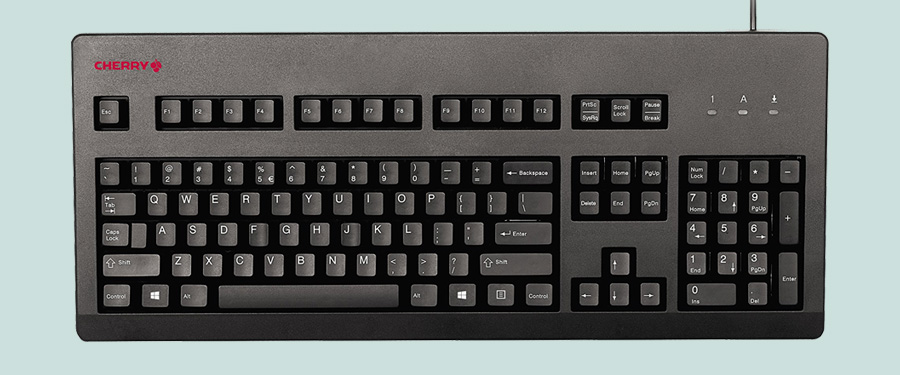 Quiet Mechanical Keyboard for the Office